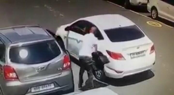 Berea car break-in 44 seconds