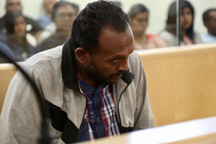 Collin Pillay made a brief appearance in the Verulam Magistrate's Court on Wednesday. The indictment alleges Pillay first killed two girls and then their mother when she returned home.