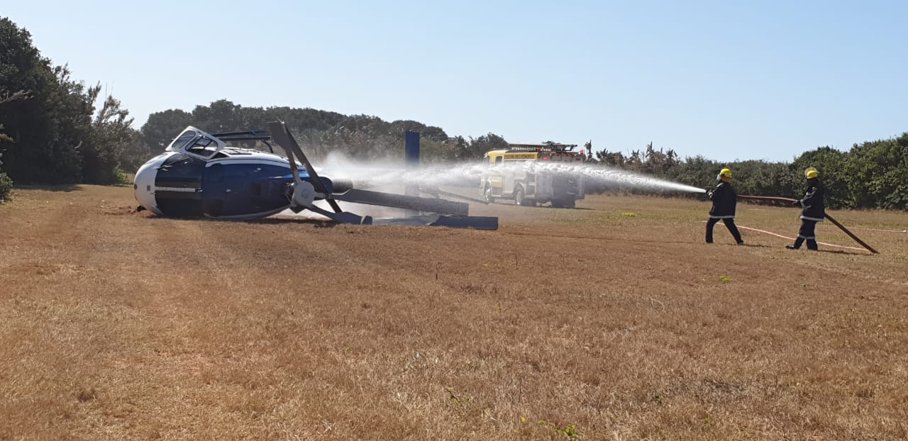 virginia airport helicopter crash