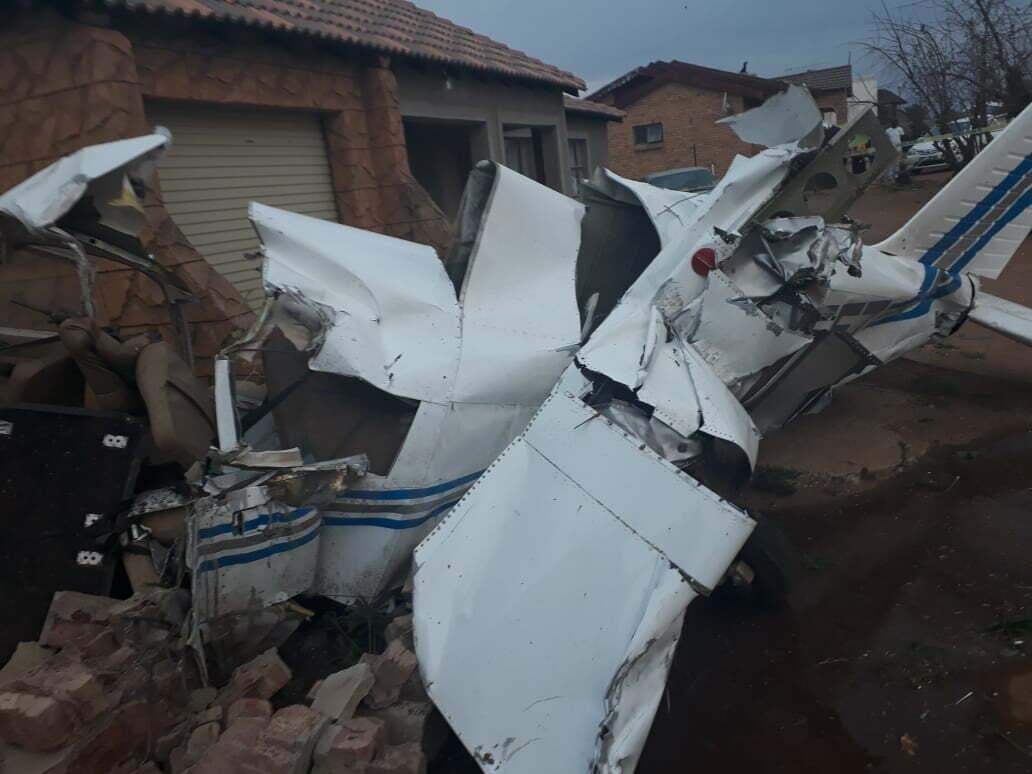 Potchefstroom aircraft crash