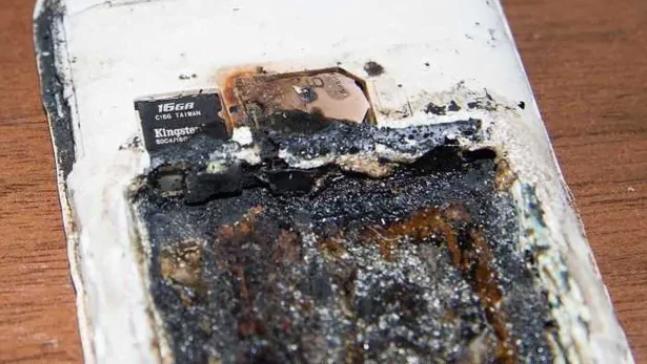 girl killed exploding cellphone battery
