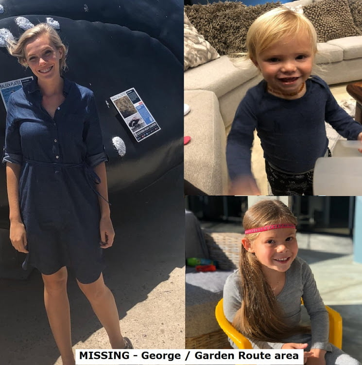 missing Heidi Scheepers and her kids