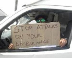 cape town paramedics attacked