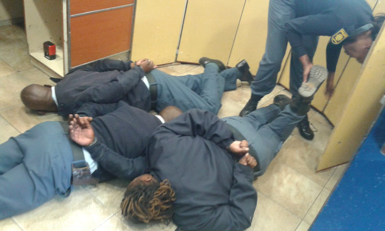 free state saps members arrested