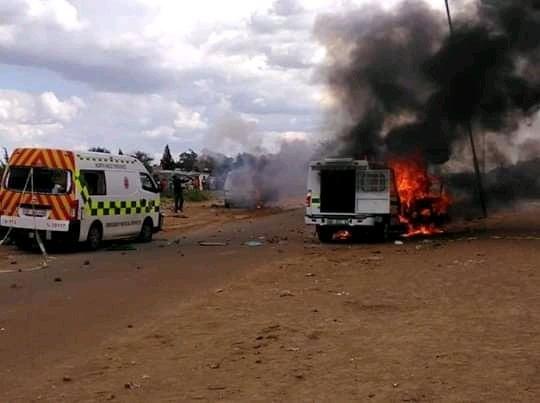 lichtenburg unrest after two children killed in accidents