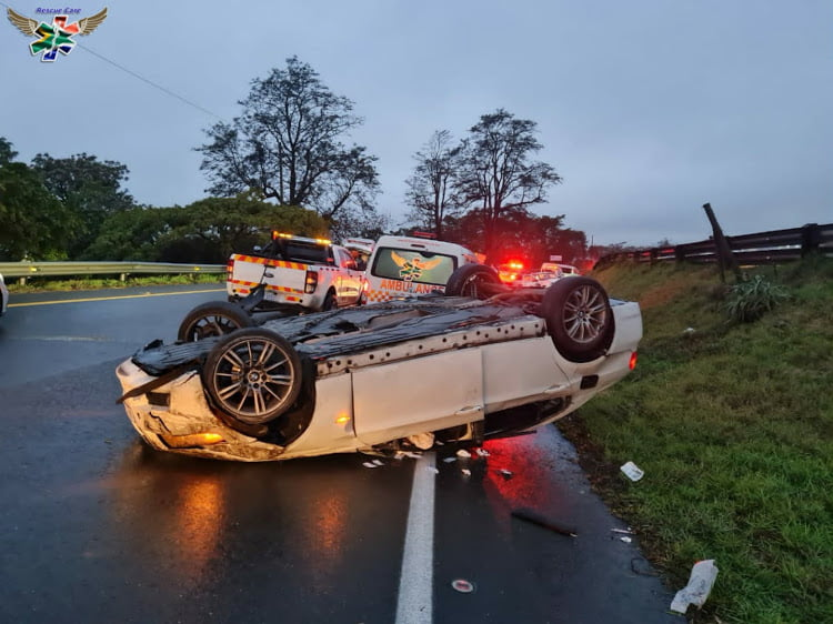 paramedic injured on accident scene