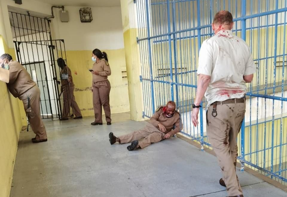 Westville prison inmates revolt